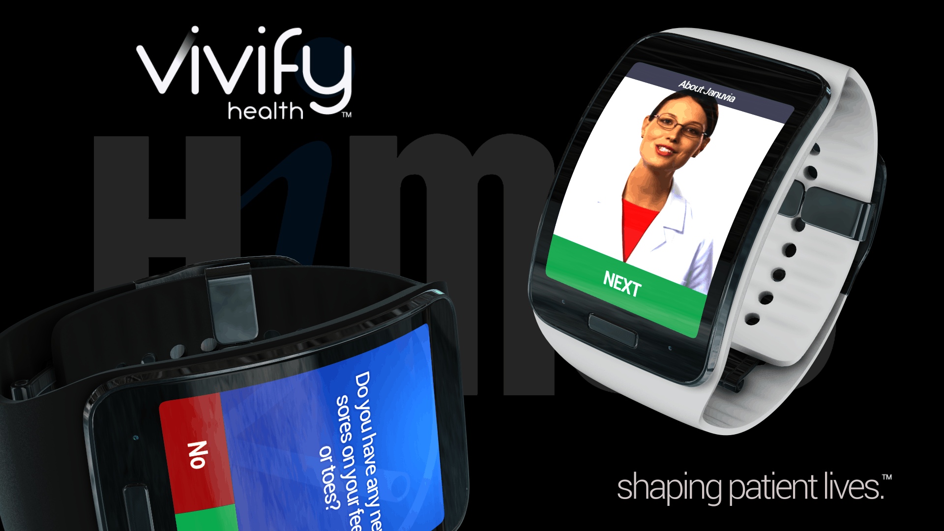 Shaping patient lives using ‪#‎wearables‬ at ‪#‎HIMSS2015‬. IMH #8265 Kiosk #21 or Samsung #503