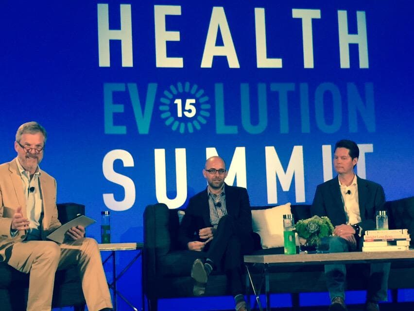 @ersatzS2 w/@VivifyHealth Rock & @EverydayHealth @benjaminwolin create value w/ access, permission and consumer info