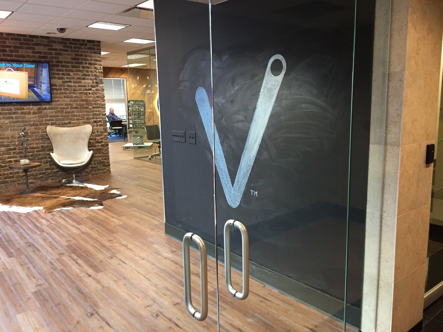 The V has landed…
