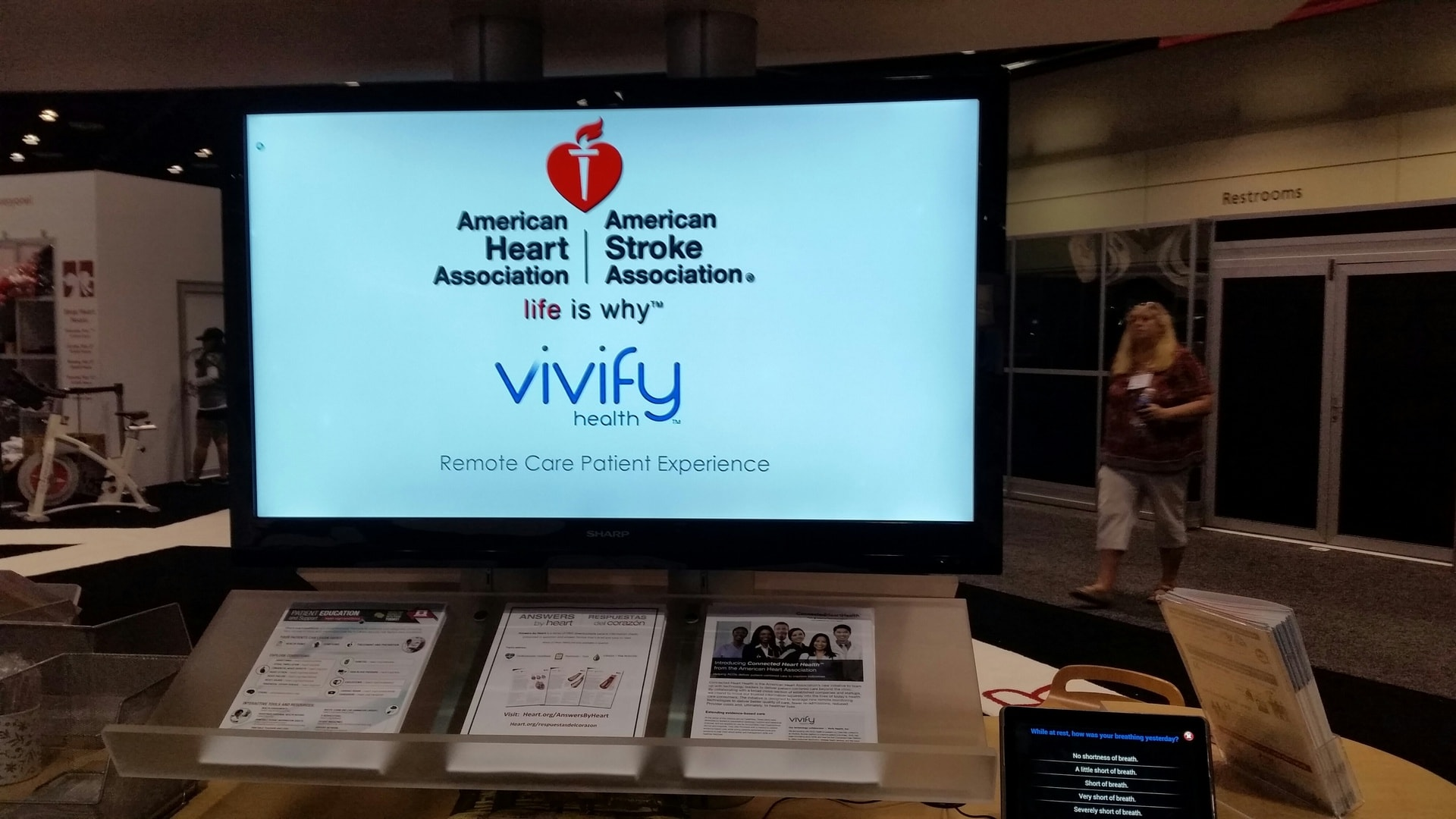 Come see Vivify Health at AHA Scientific Sessions '15 in Orlando.  Look for us in the AHA Heart Quarters.