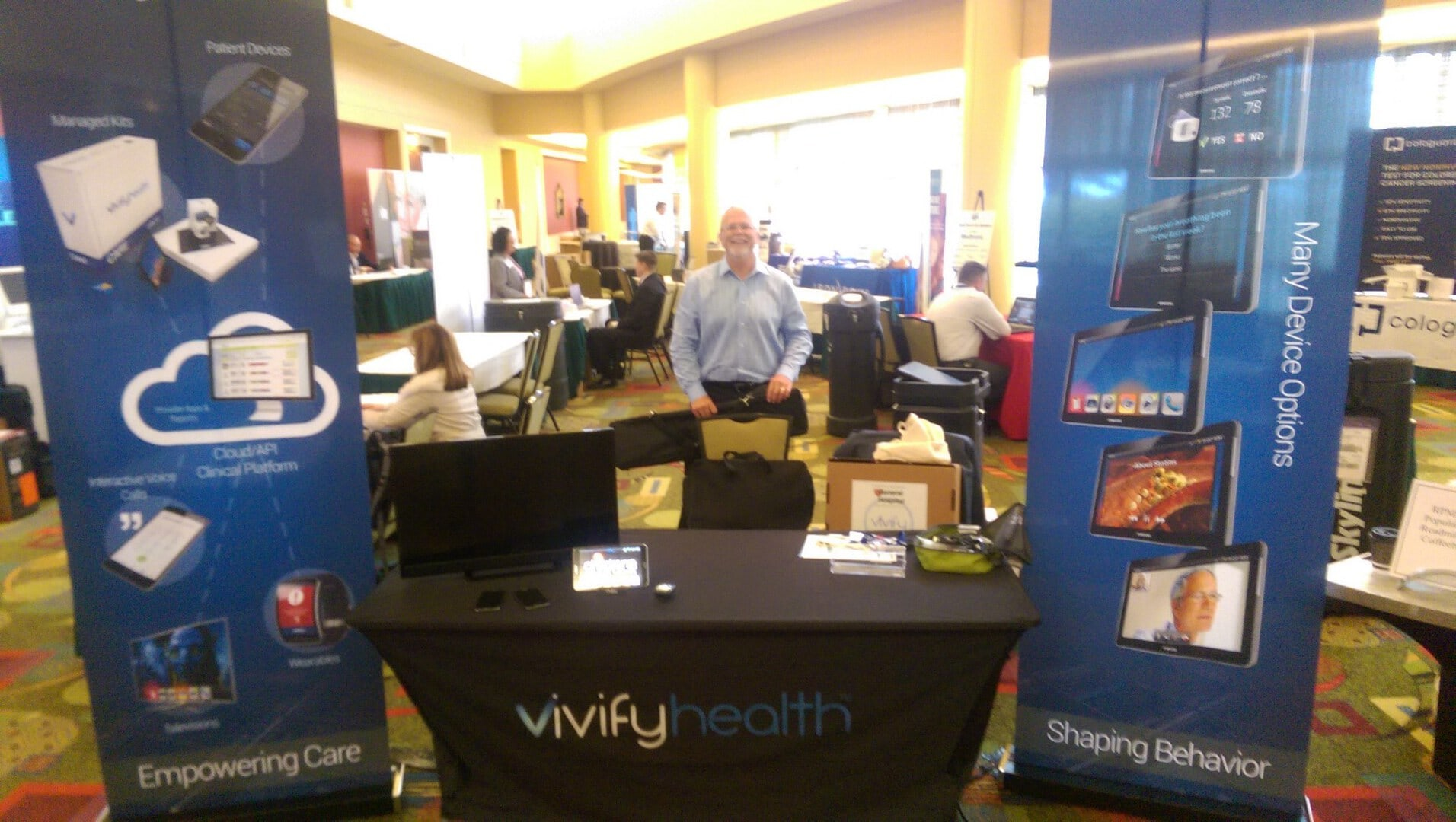 @VivifyHealth is representing at the @Wrldhealthcare Summit in Atlanta today through Friday. #telehealth #mhealth