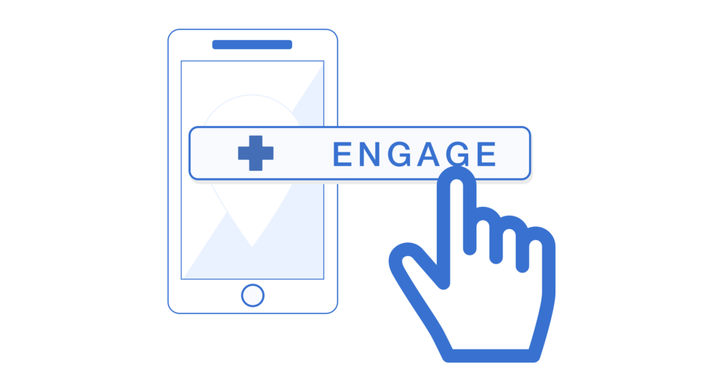 patient engagement with virtual healthcare