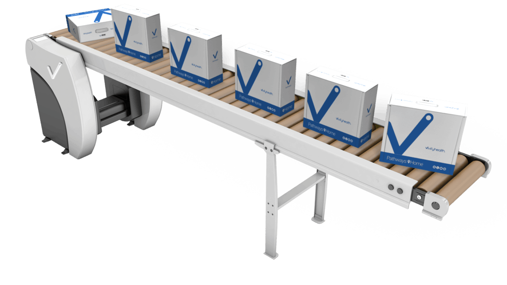 Vivify- Conveyor Belt- with Boxes