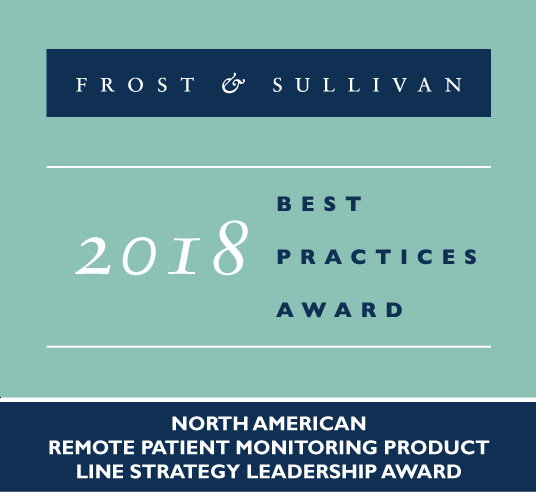 frost & sullivan award remote patient monitoring solution