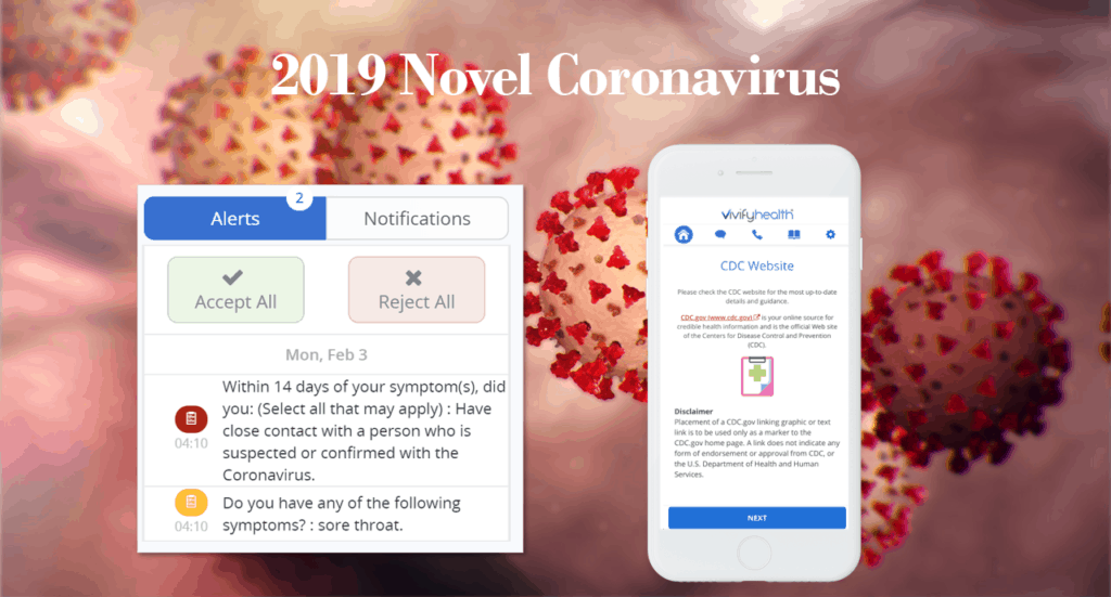 Coronavirus Screening from Vivify Health