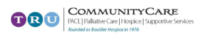Tru Community Care hospice & palliative care logo Bolder, Co