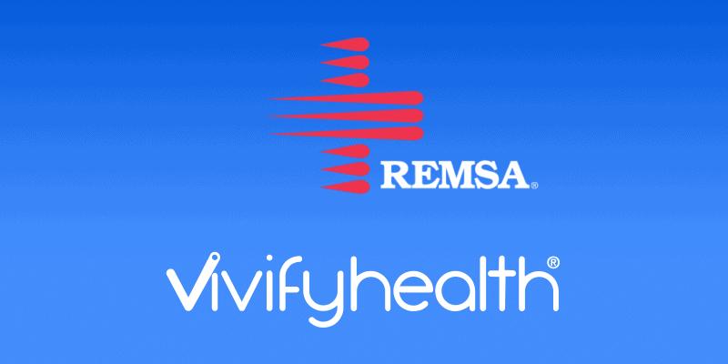 REMSA and Vivify Logo