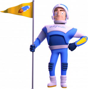 Vh- Imagery- Vivify- Guy with Flag
